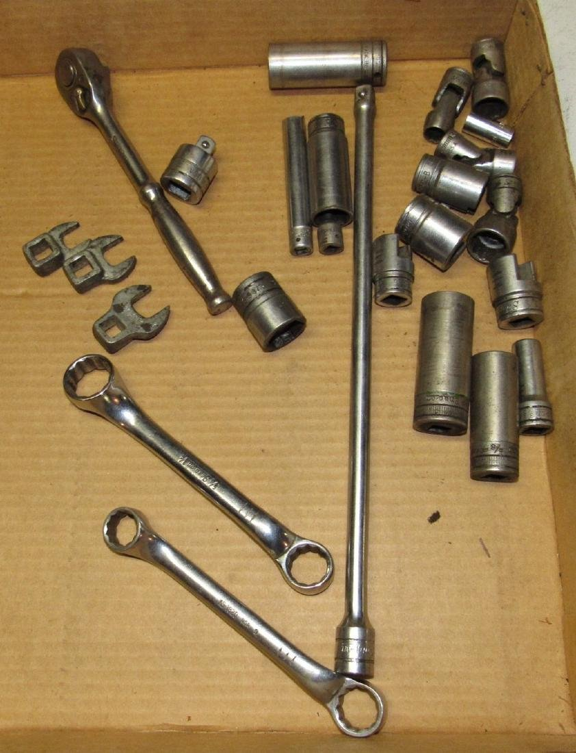 Snap On Wrenches Socket Rachet Extension Lot