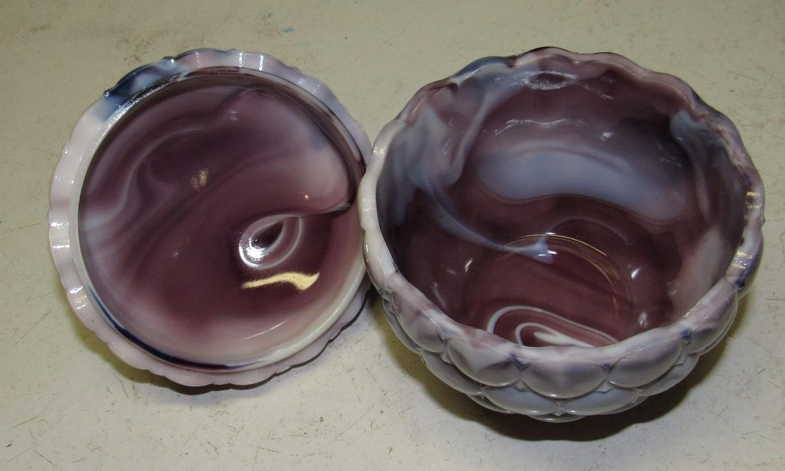 Westmoreland Glass Covered Dish - 3