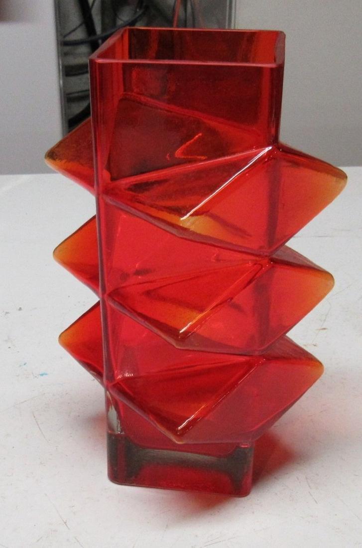 """8"""" Blenko Glass Vase"""