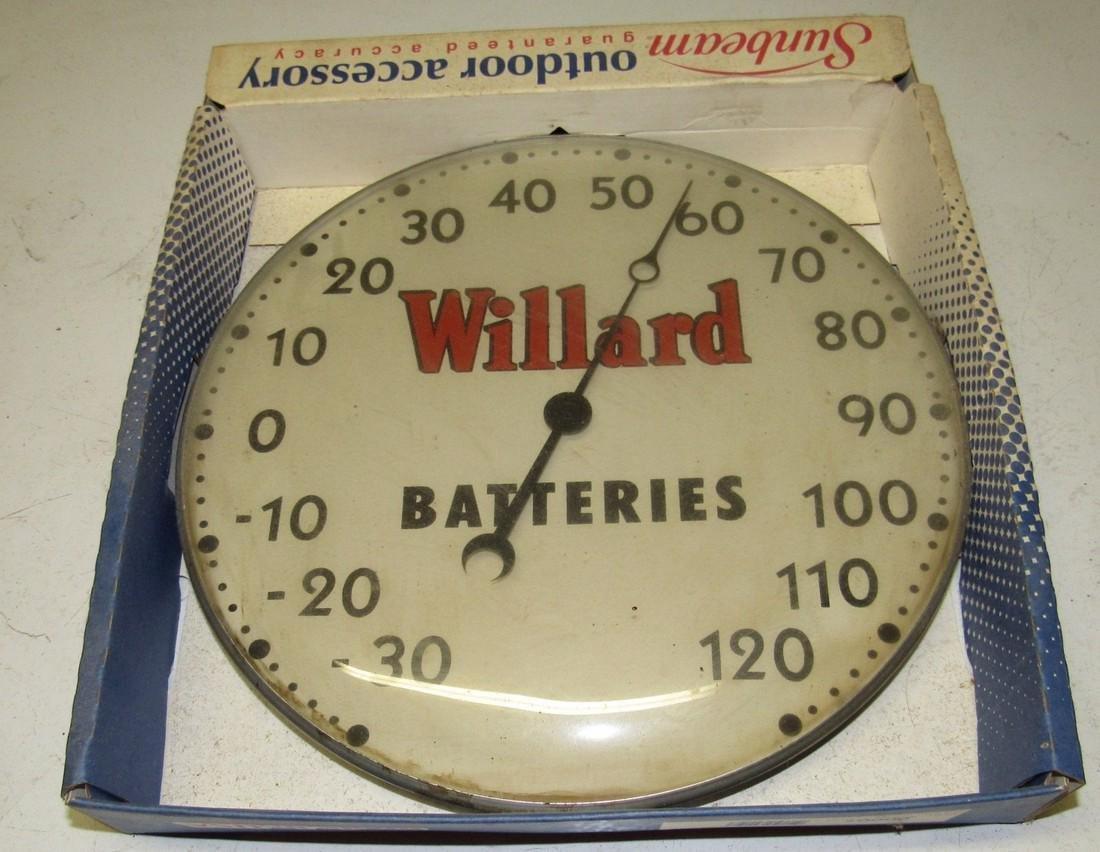 Sunbeam Willard Batteries Thermometer