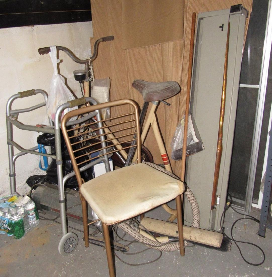 Exercise Bike Walker Vaccuum Heater Lot