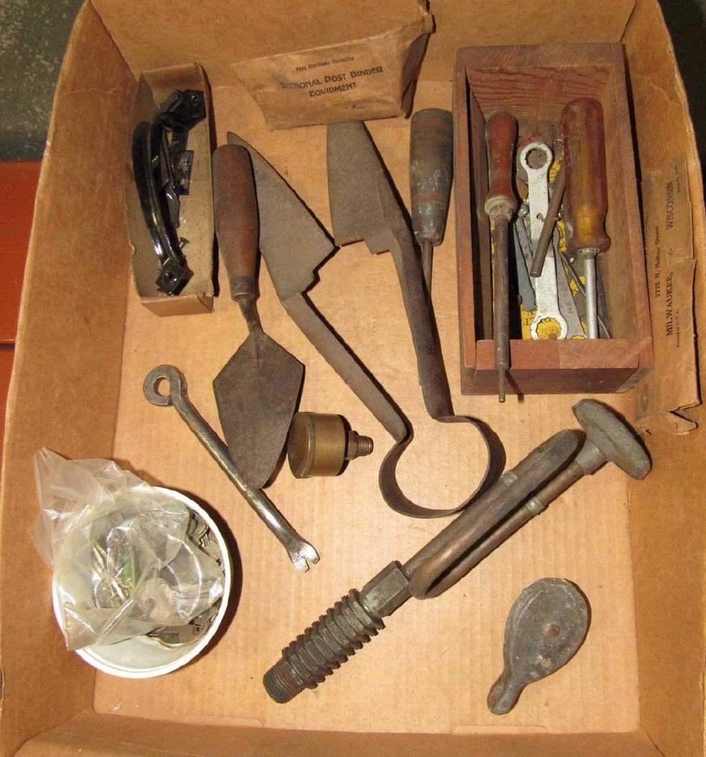 Tools Door Handle Hardware Shear Oiler Lot