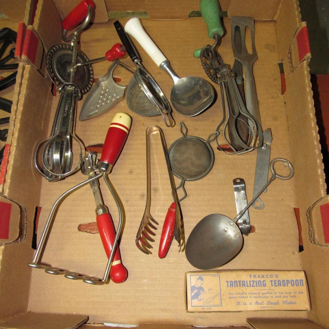 Vintage Kitchenware Kitchen Utensils