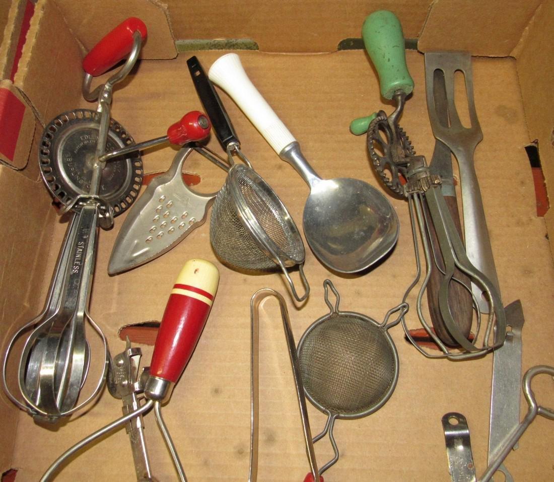 Vintage Kitchenware Kitchen Utensils - 2