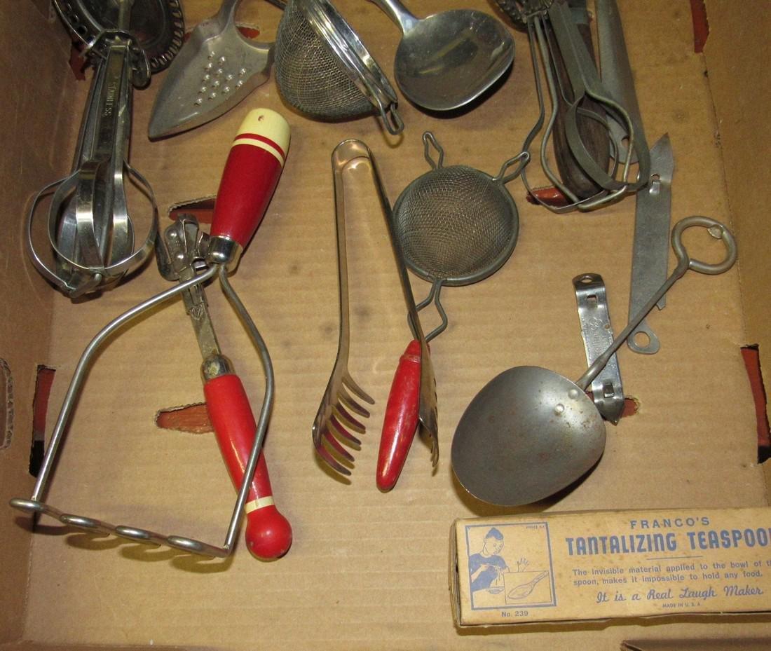 Vintage Kitchenware Kitchen Utensils - 3