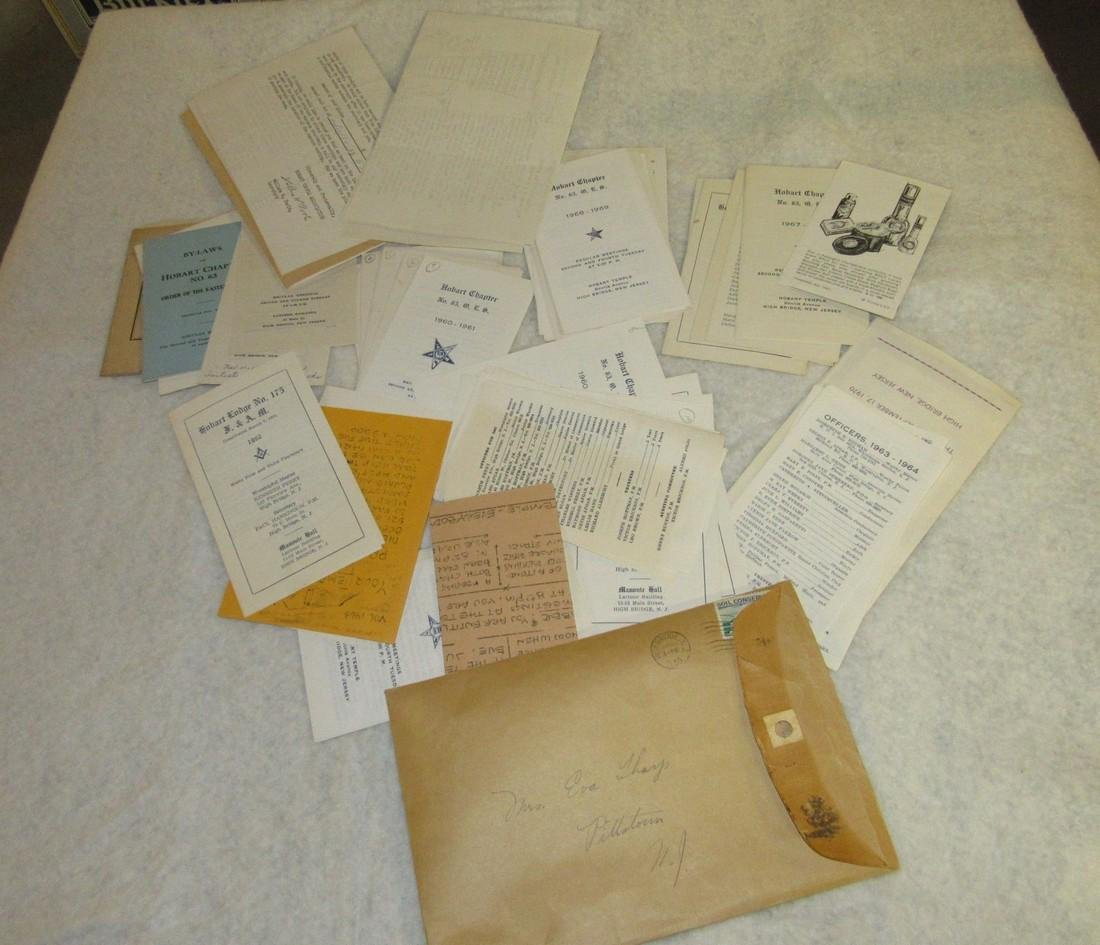 Hobart Lodge Masonic Literature Lot