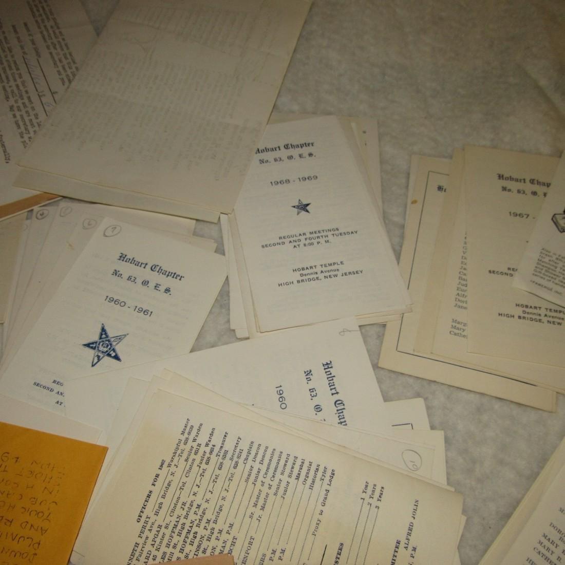 Hobart Lodge Masonic Literature Lot - 2