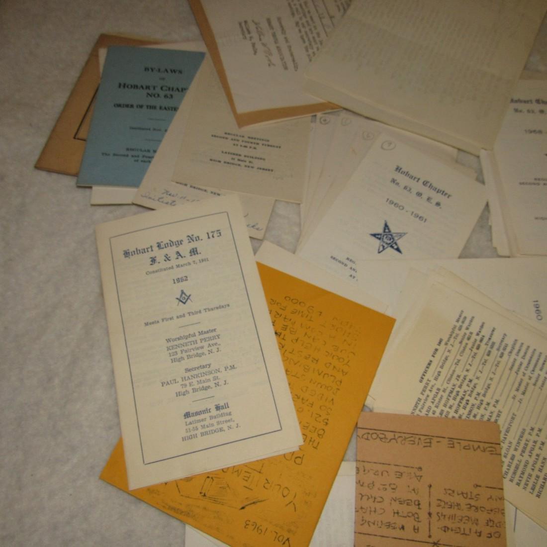 Hobart Lodge Masonic Literature Lot - 3