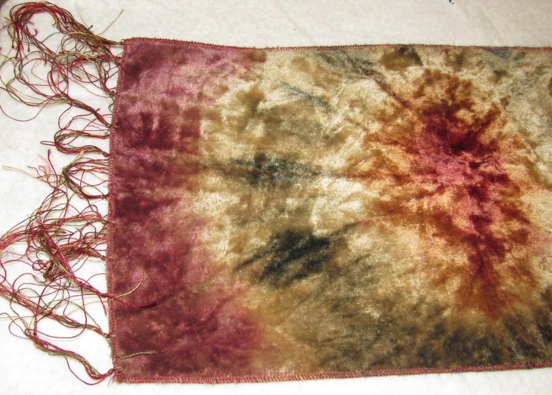 Silk Tapestry & Beaded Bag - 2