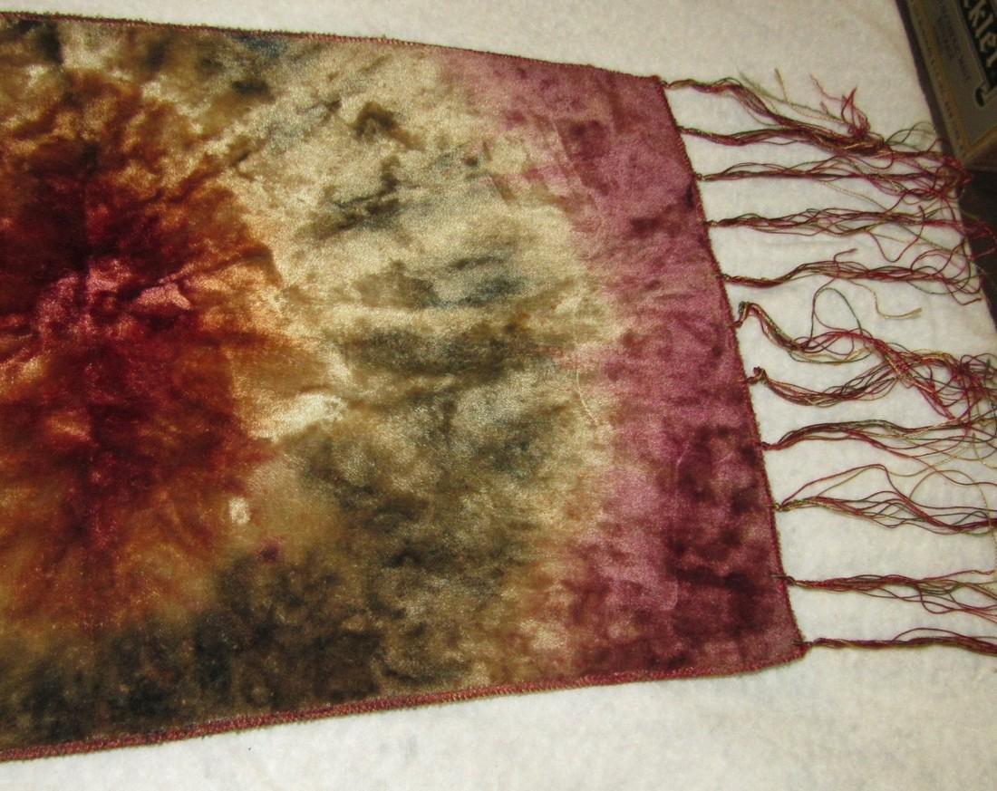 Silk Tapestry & Beaded Bag - 3