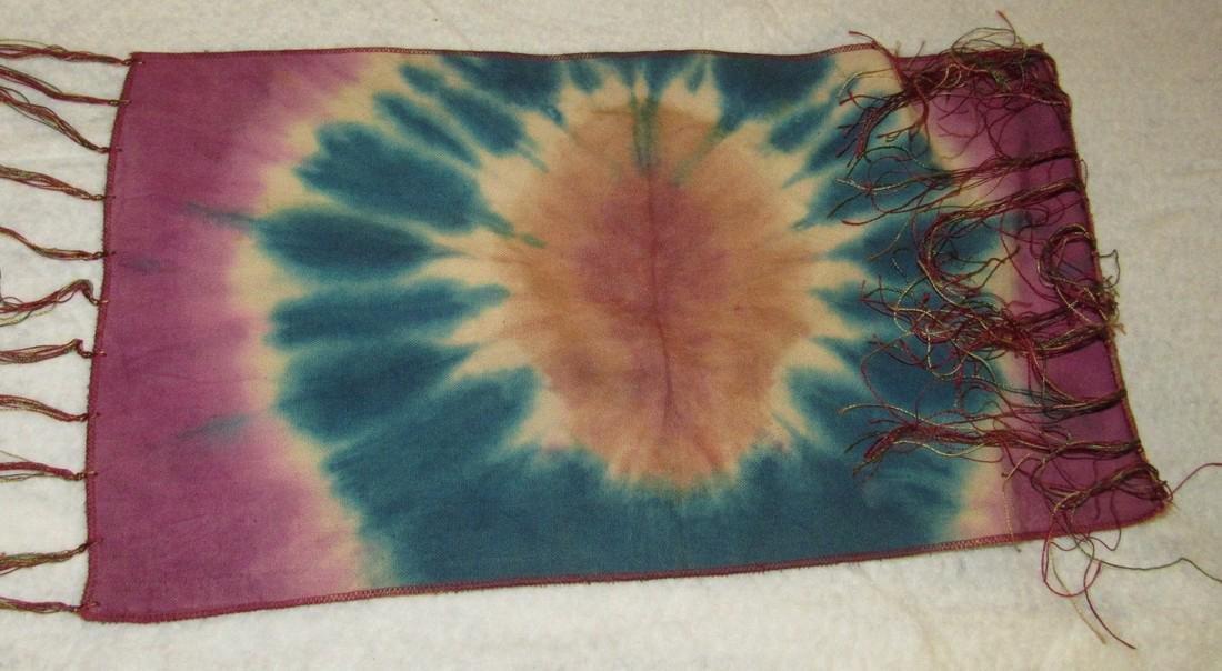 Silk Tapestry & Beaded Bag - 4