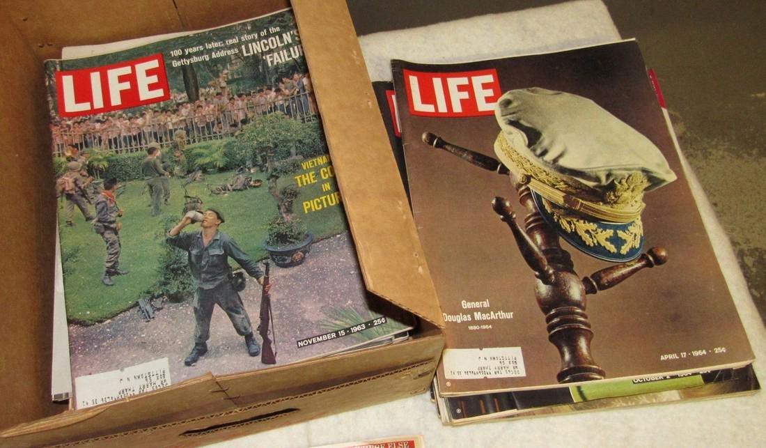Lot of Life & Misc Magazines - 5