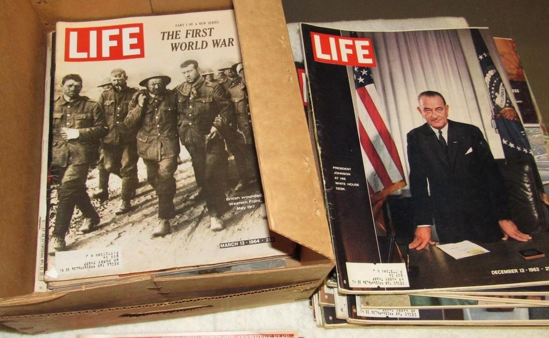 Lot of Life & Misc Magazines - 9