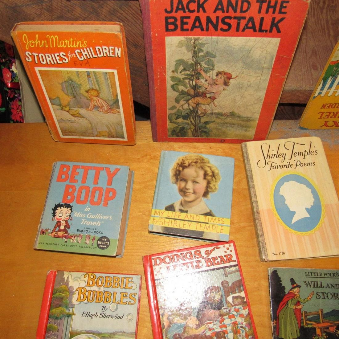 Lot of Childrens Books Incl. Shirley Temple - 2