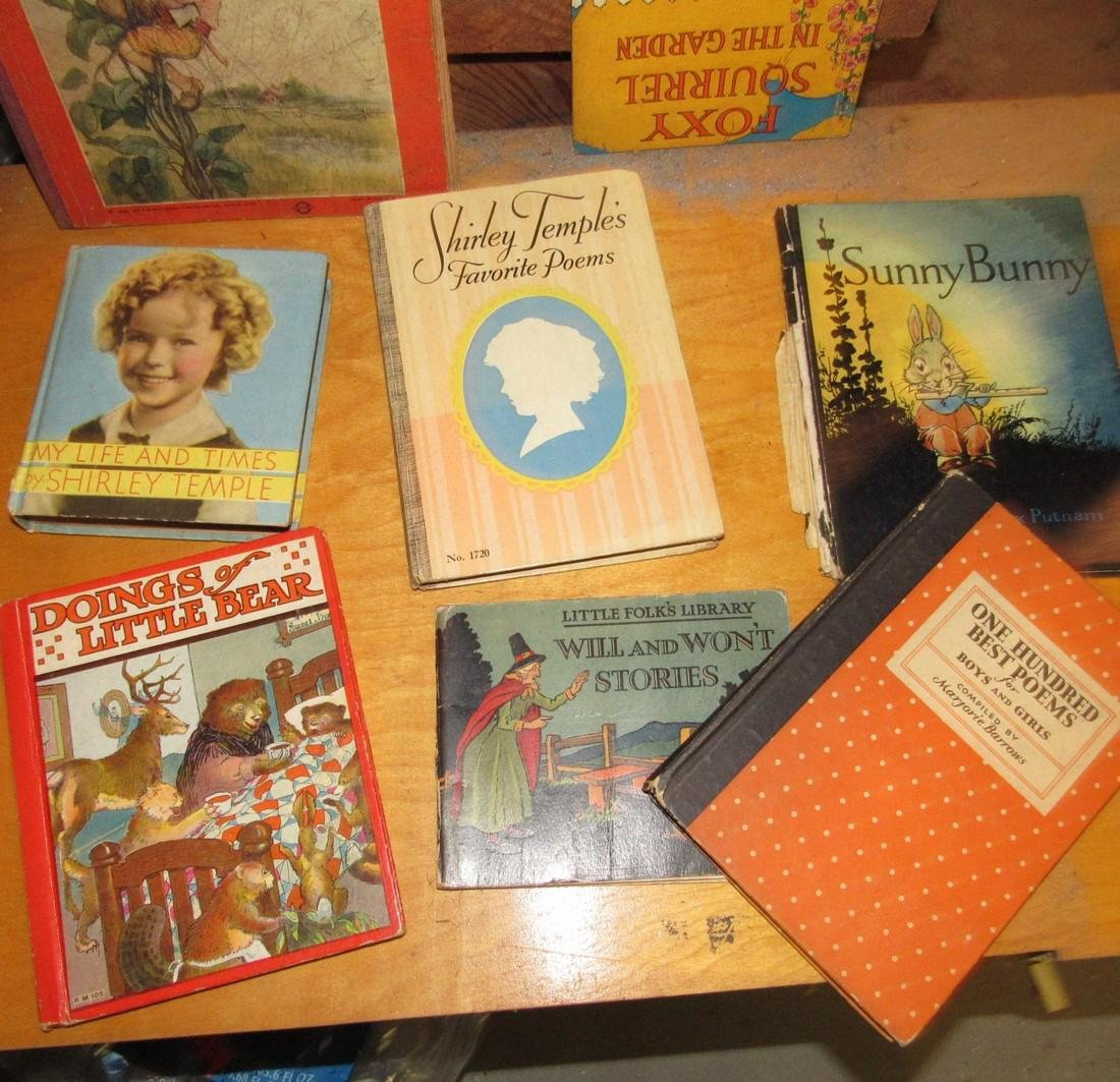 Lot of Childrens Books Incl. Shirley Temple - 3