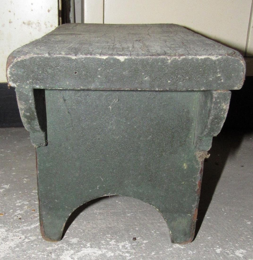 Primitive Painted Bench - 2