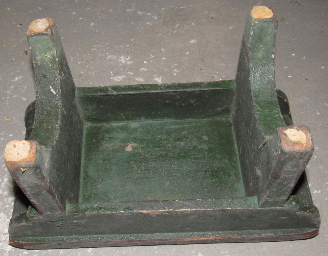 Primitive Painted Bench - 3