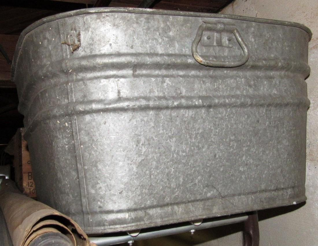Galvanized Tub - 2