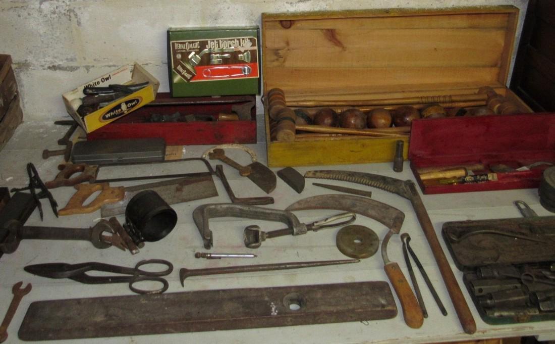 Large Tool Lot