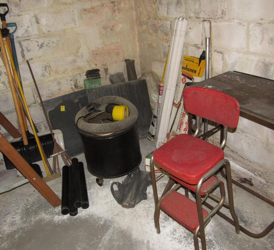 Hand Tools Shop Vac Chair Lot