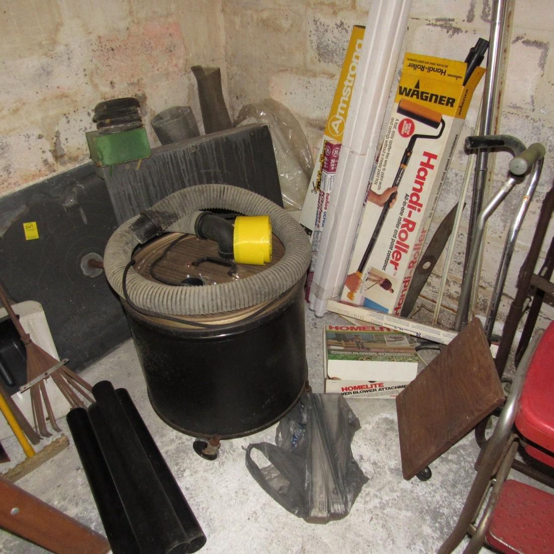 Hand Tools Shop Vac Chair Lot - 3