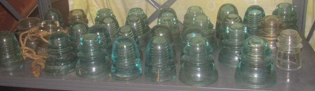 Lot of Vintage Insulators