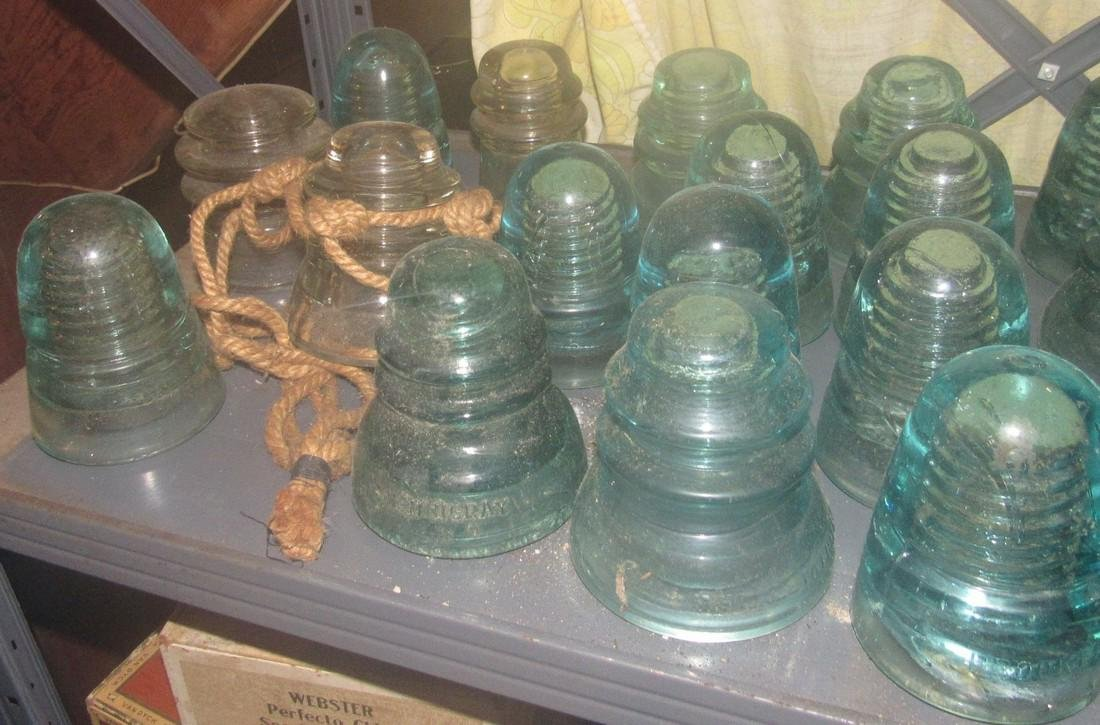 Lot of Vintage Insulators - 3