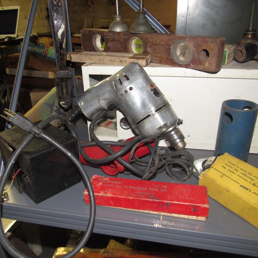 Tools Oil Cans Timing Lights Socket Sets Shelf - 9