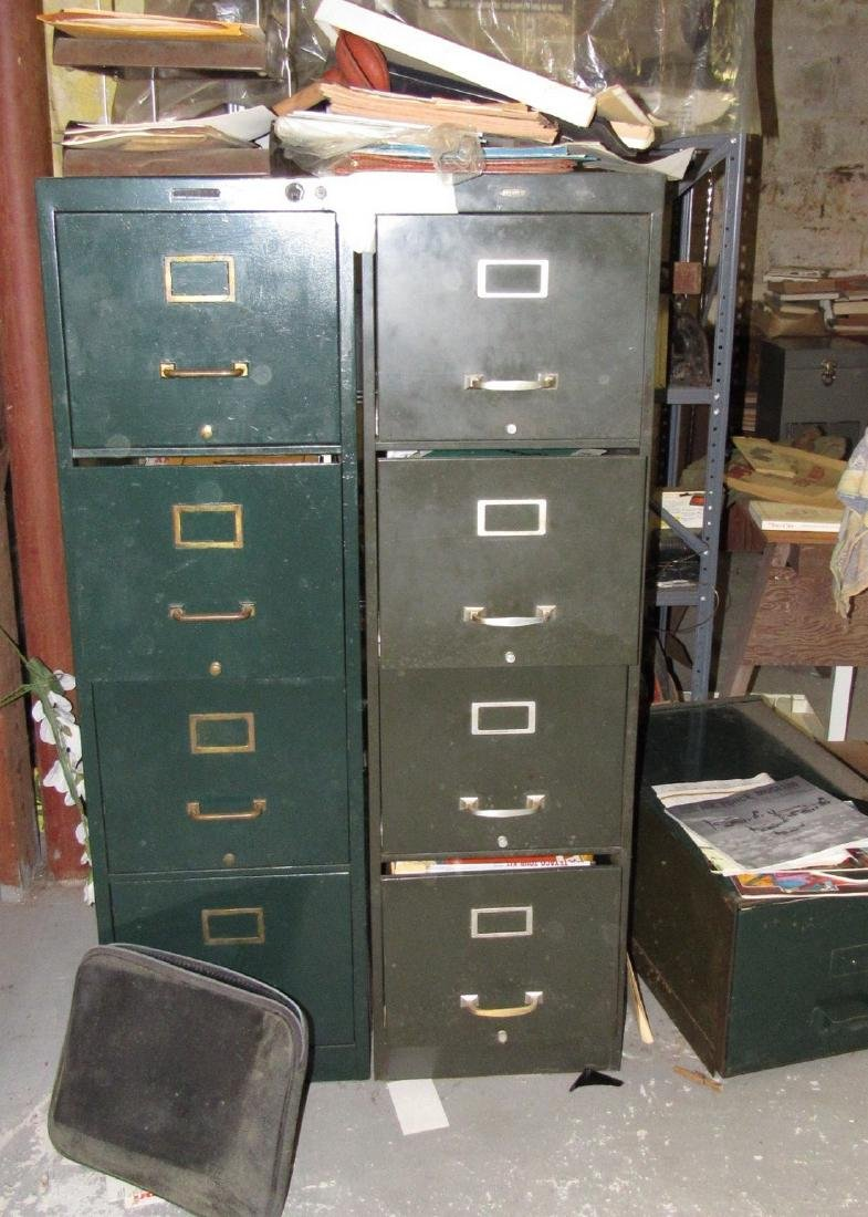 3 File Cabinets Filled with Literature