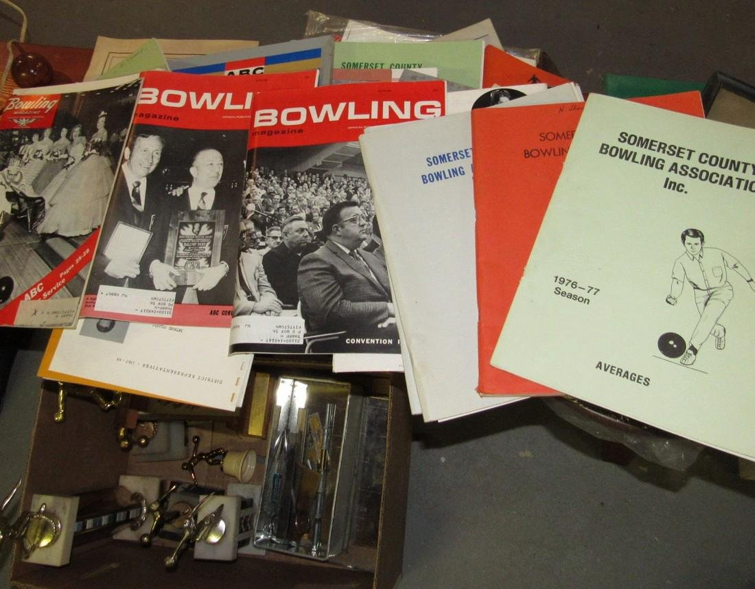 Lot of Vintage Bowling Literature Magazines - 6