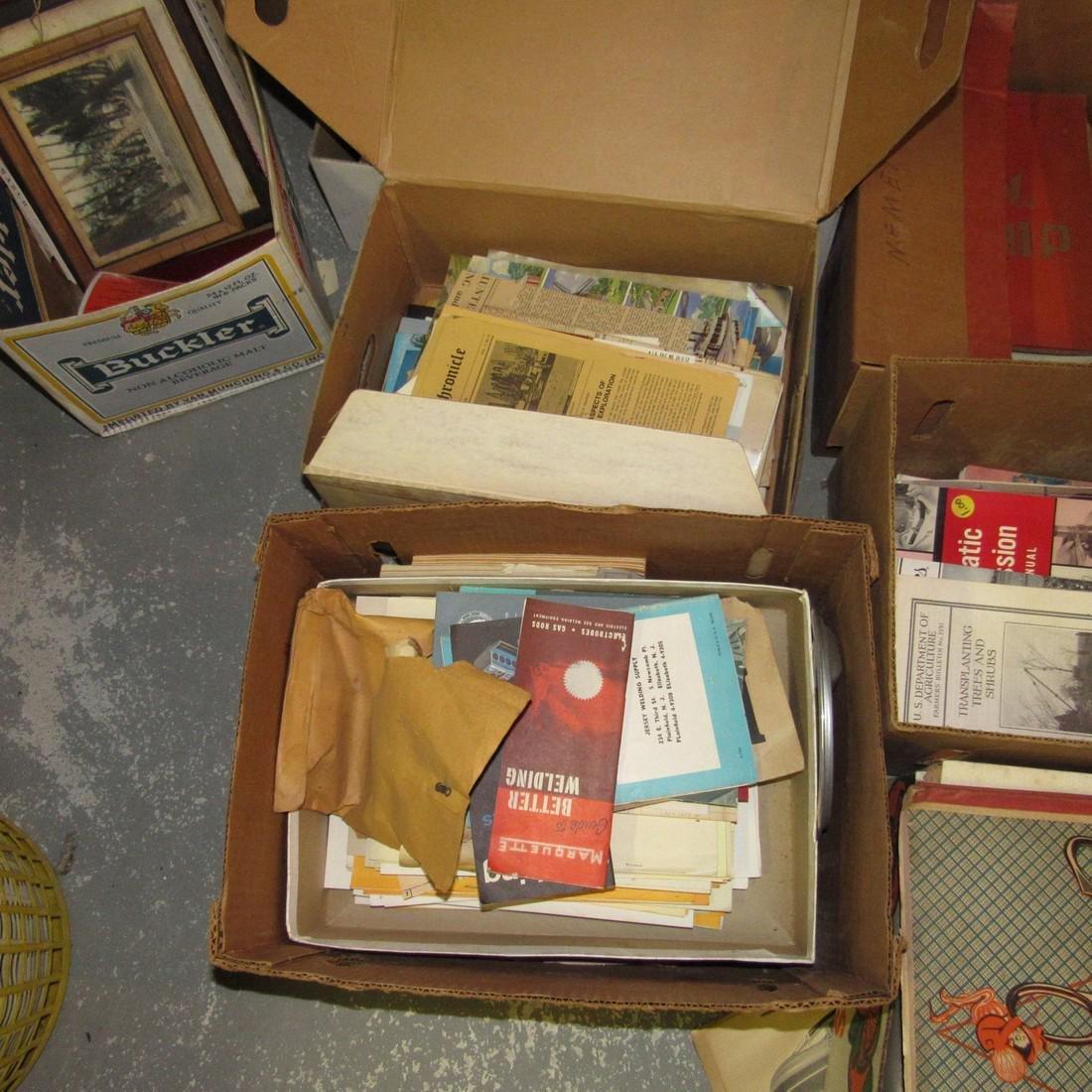Large Lot of Literature Scrapbooks & Misc - 4