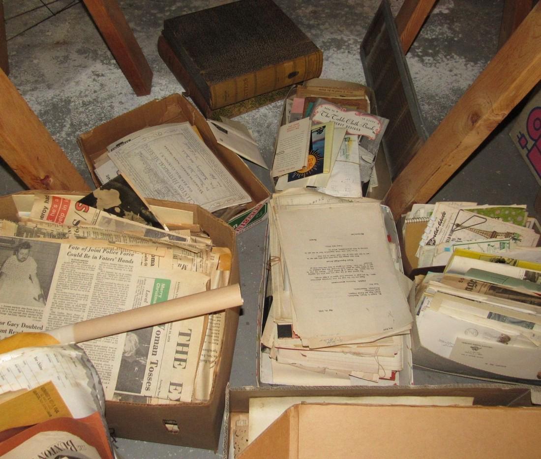 Large Lot of Literature Scrapbooks & Misc - 6