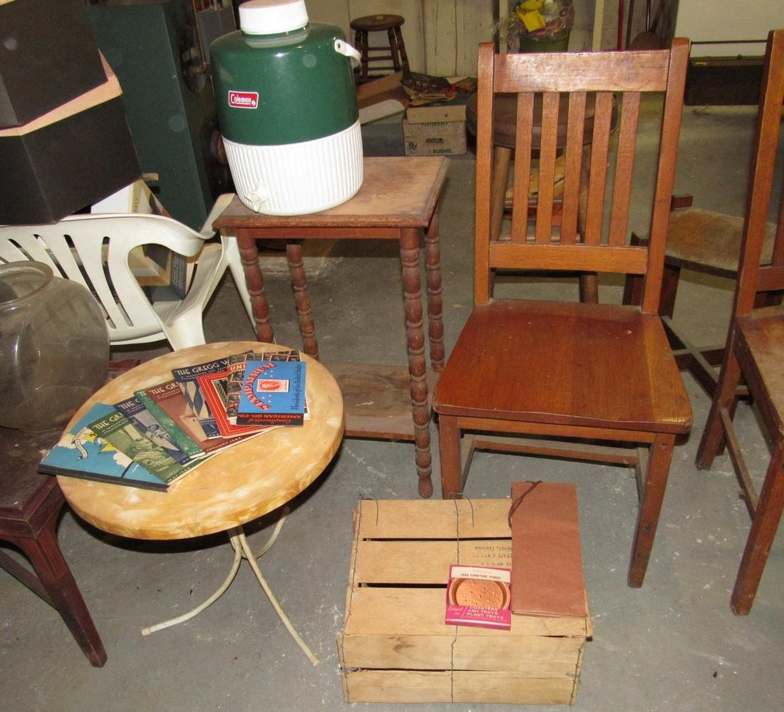 Funiture Chairs Plant Stand Stools Tables - 5
