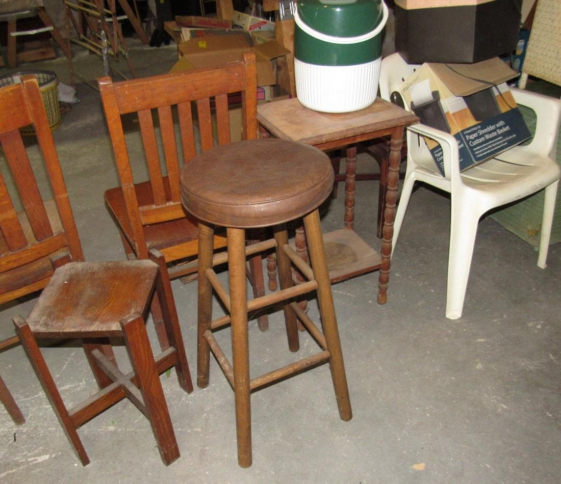 Funiture Chairs Plant Stand Stools Tables - 7