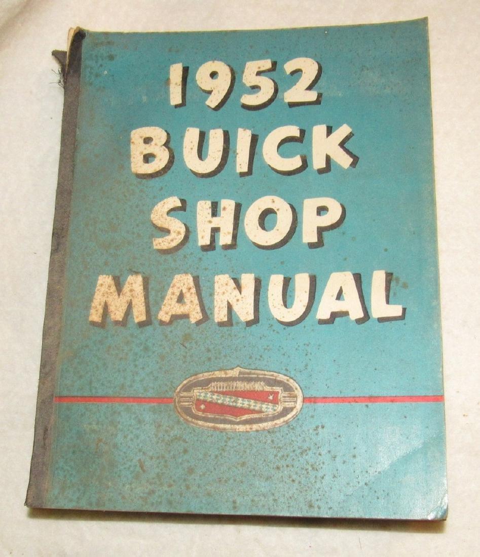 1952 Buick Shop Manual