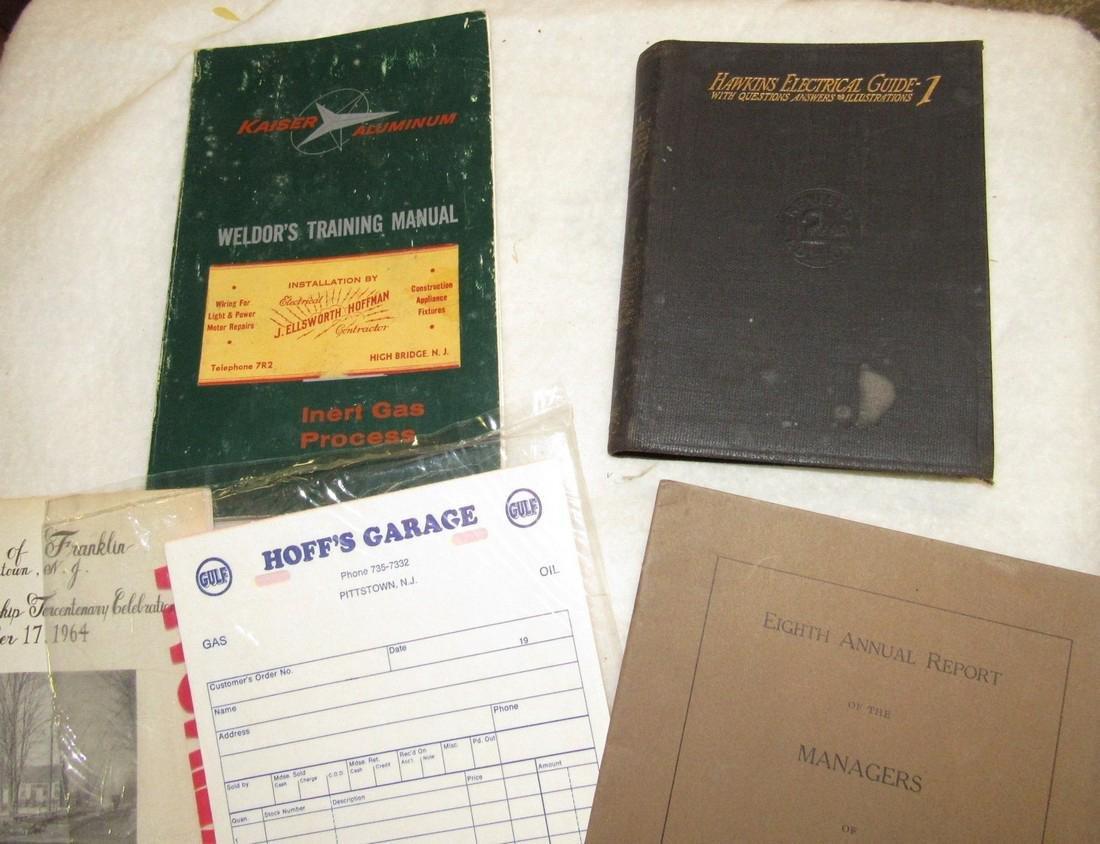 1920 Clinton Farms Annual Report & Local Books - 2