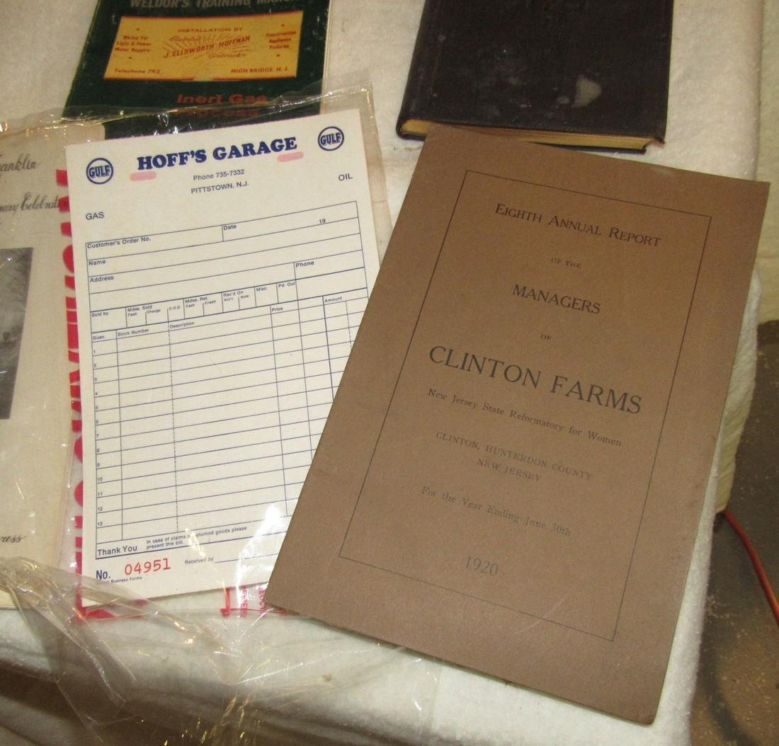 1920 Clinton Farms Annual Report & Local Books - 3