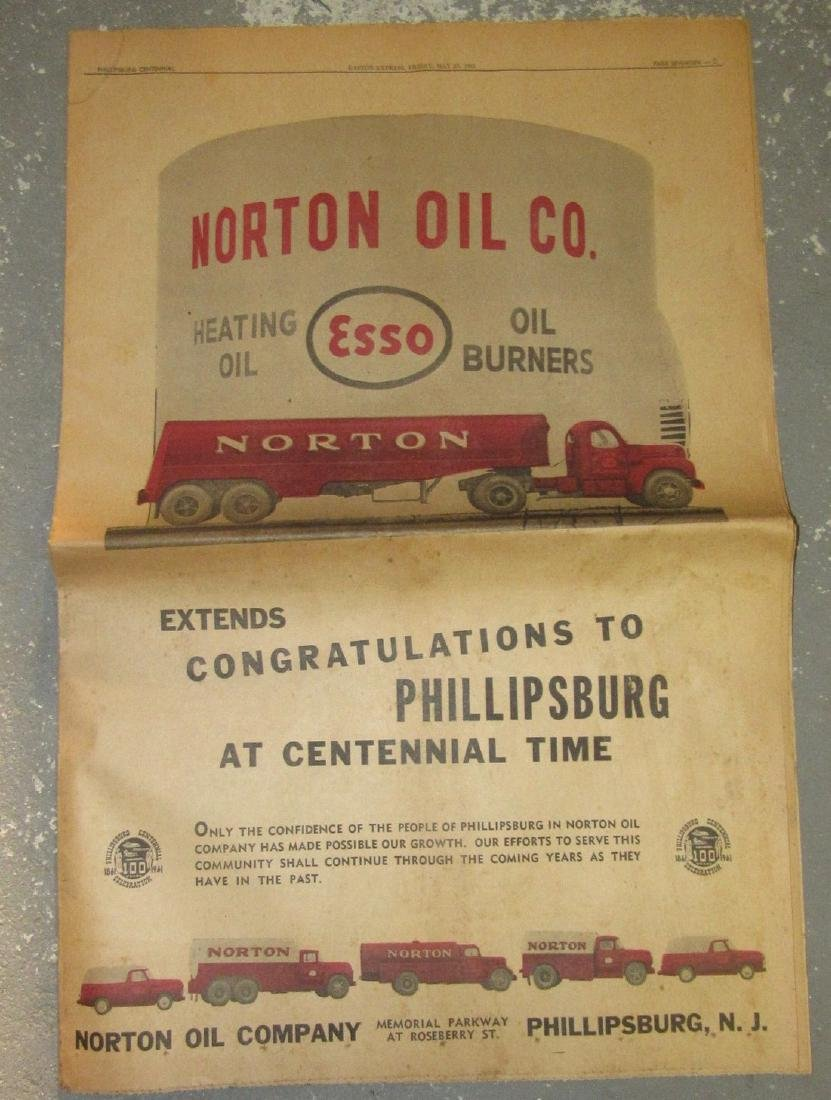 1961 Easton Express Norton Esso Oil