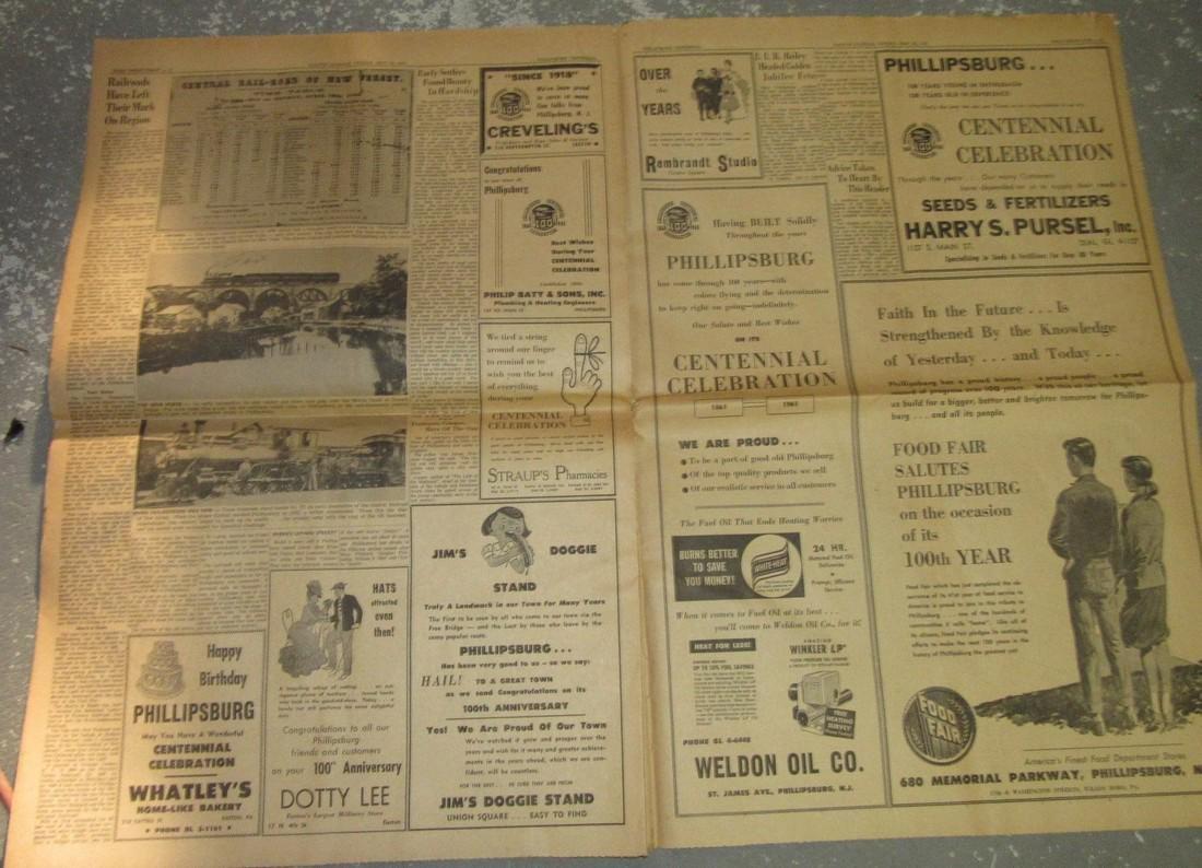 1961 Easton Express Norton Esso Oil - 2