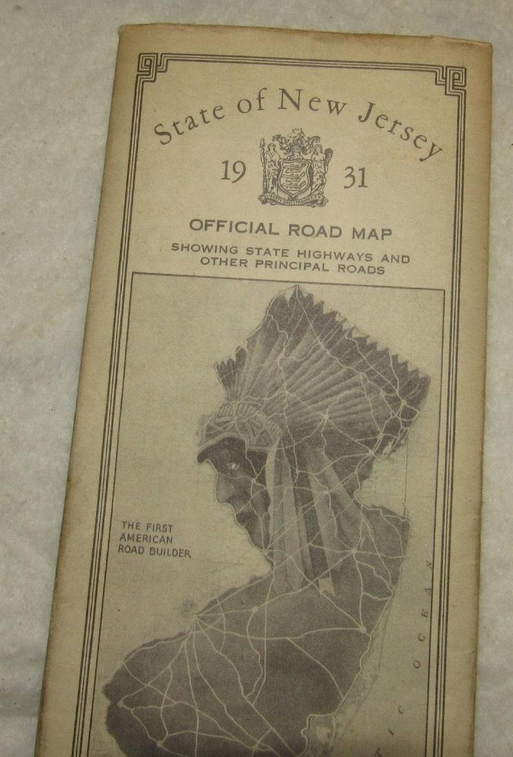1931 NJ Road Map - 2