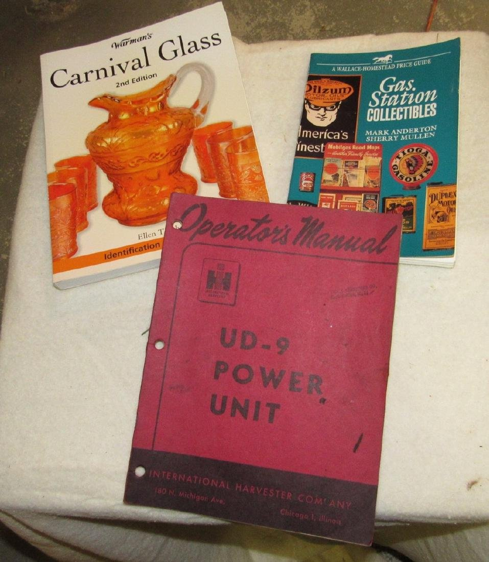 Carnival Glass Gas Station Collectibles Books