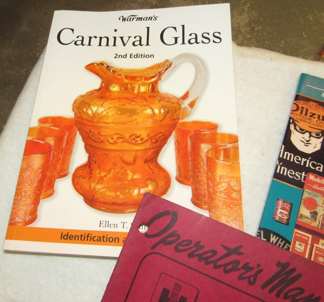 Carnival Glass Gas Station Collectibles Books - 2