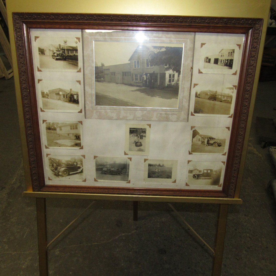 PITTSTOWN NJ FRAMED SERVICE STATION PHOTOS