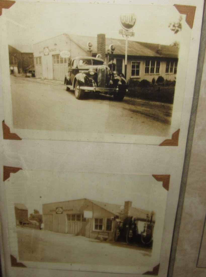 PITTSTOWN NJ FRAMED SERVICE STATION PHOTOS - 3