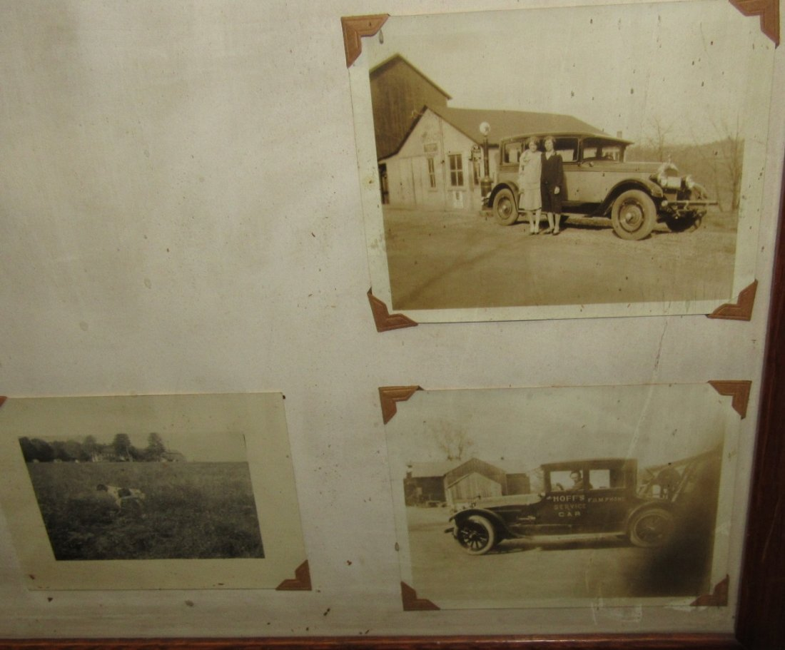PITTSTOWN NJ FRAMED SERVICE STATION PHOTOS - 7