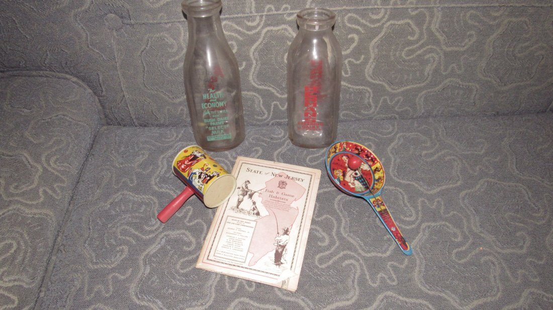 Milk Bottles Noise Makers Fish & Game Book