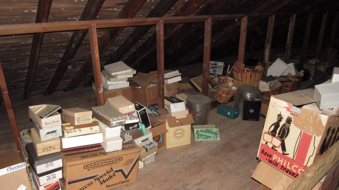 Contents of Attic