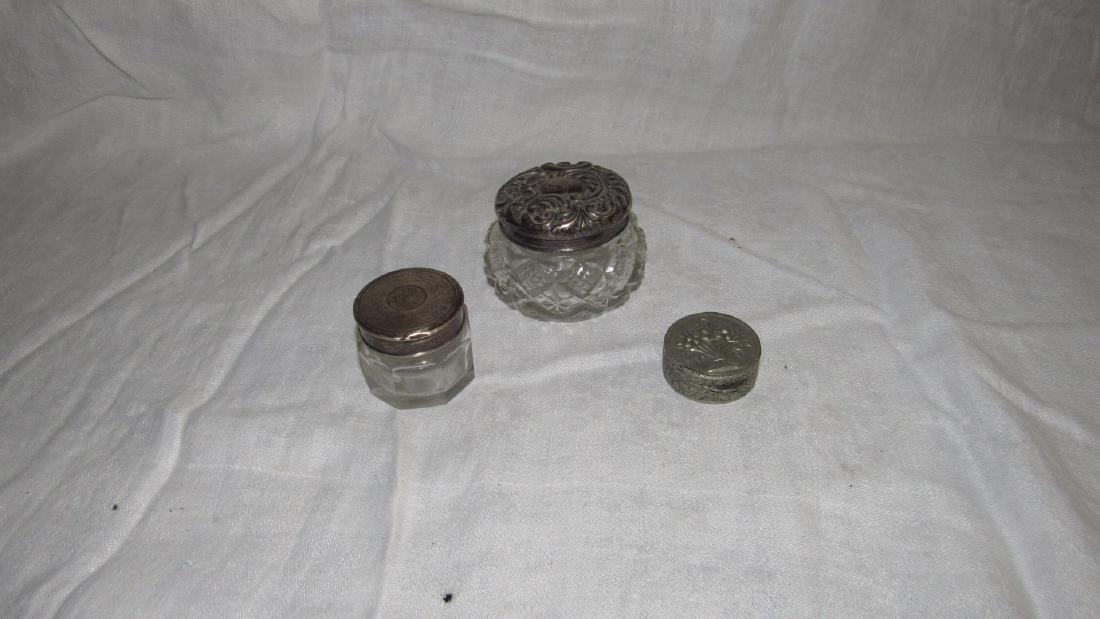 Powder Jar Vanity Jar Lot