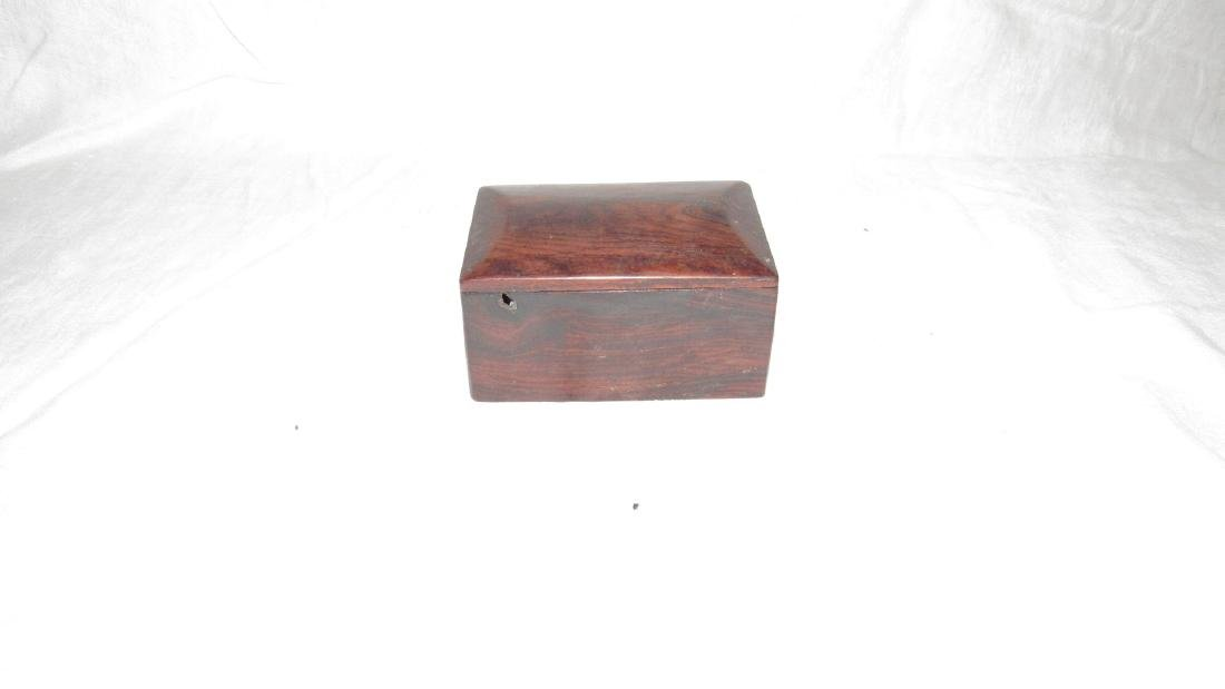 Burl Wood Trinket Box