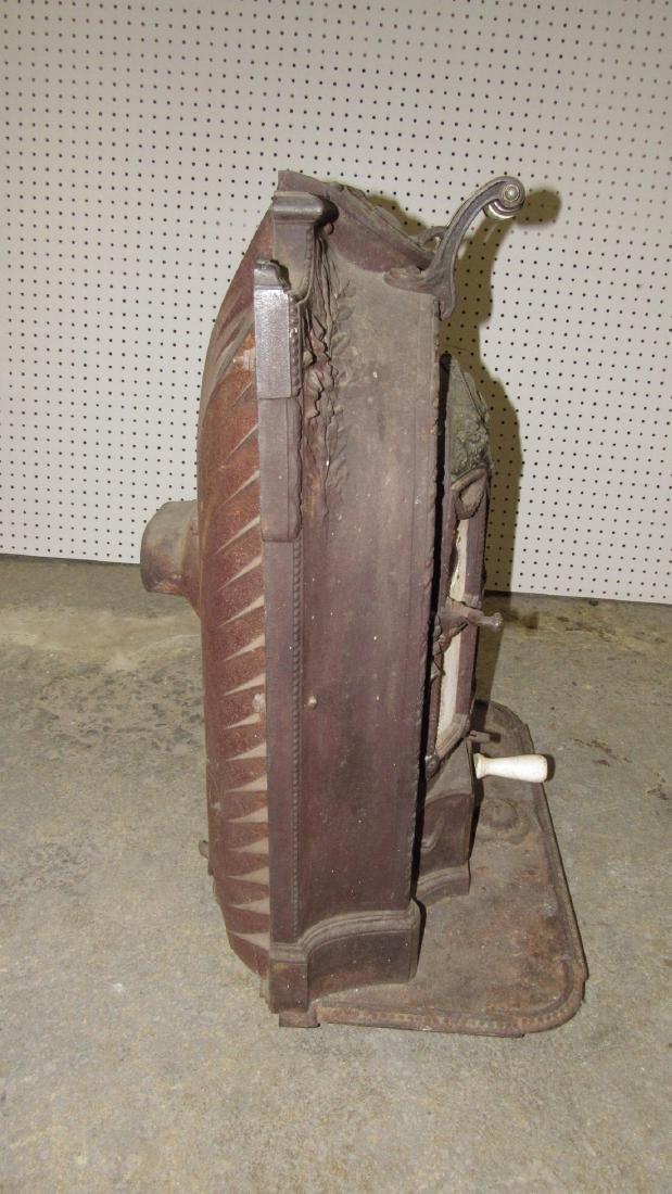 A Salamandre Cast Iron Stove Chaboche - 4